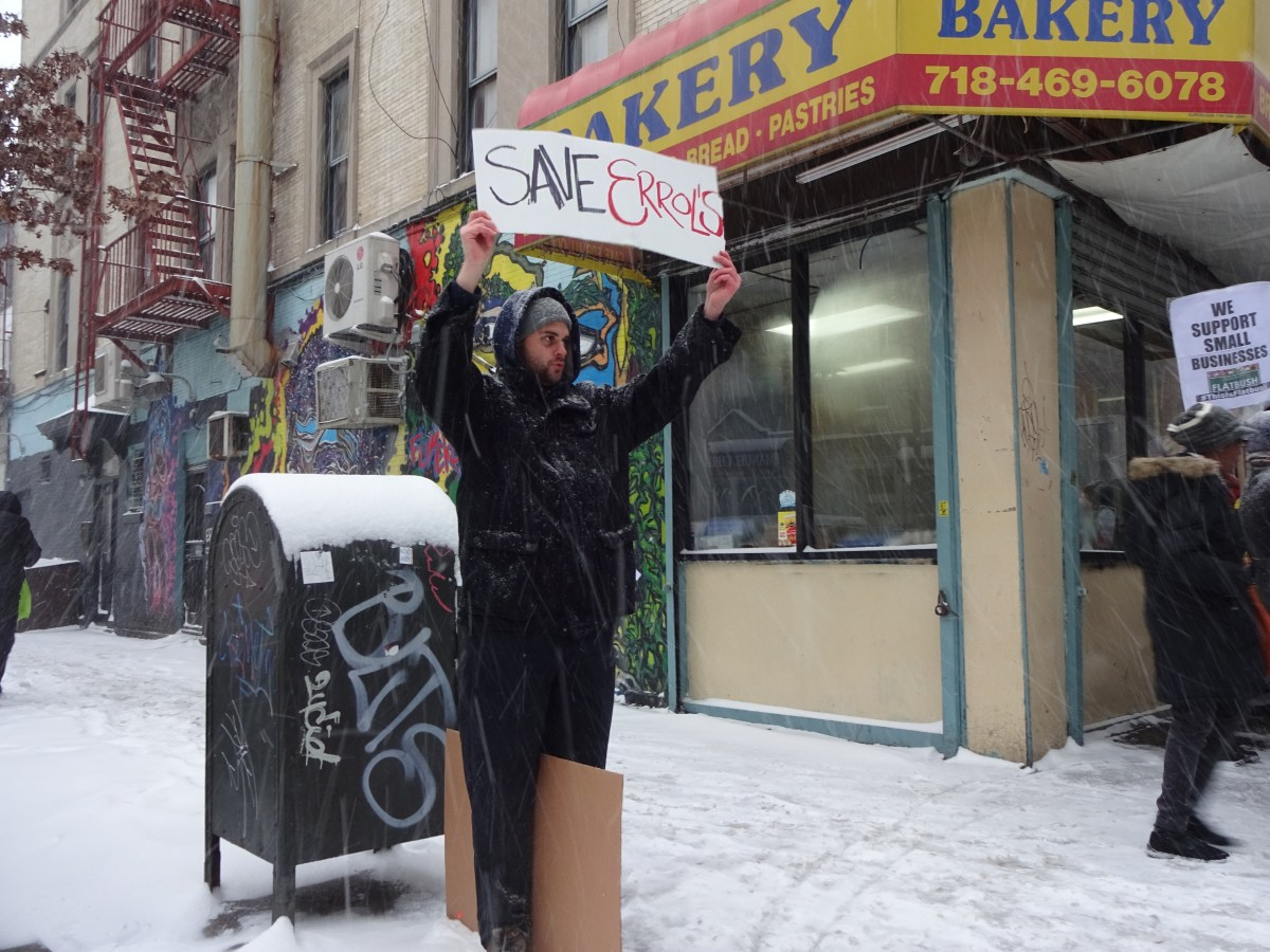 Errol's Bakery, Equality for Flatbush, gentrification, Brooklyn small businesses, small businesses closing, Small Business Jobs Survival Act, 661 Flatbush Ave, Errol's Caribbean Bakery