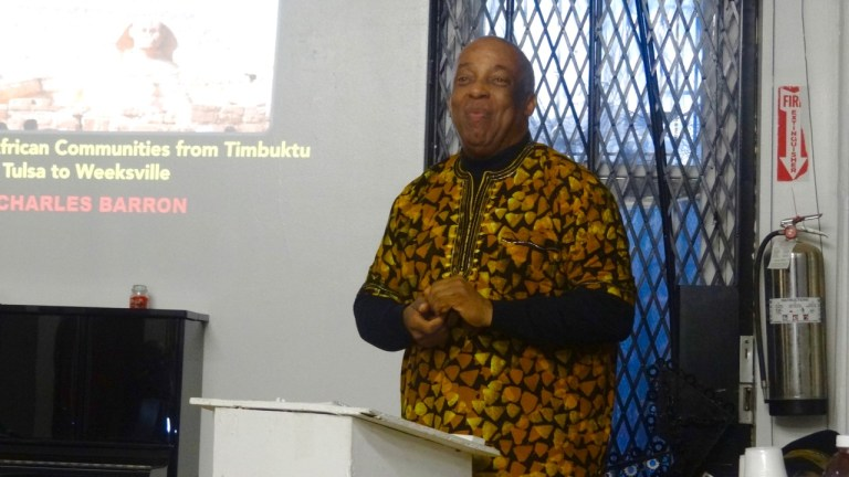 Charles Barron, Magnolia Tree Earth Center, 500 Men Making a Difference