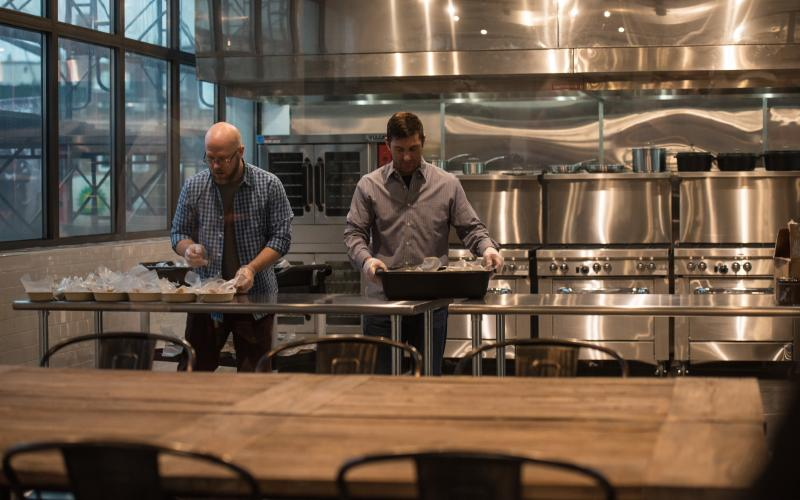 food incubator, Councilmember Stephen Levin, culinary incubator, Bed Stuy, Bedford Stuyvesant, Brooklyn FoodWorks,New York City Housing Authority, small business, Dinner Lab, Inc,NYCEDC, Brooklyn Borough president