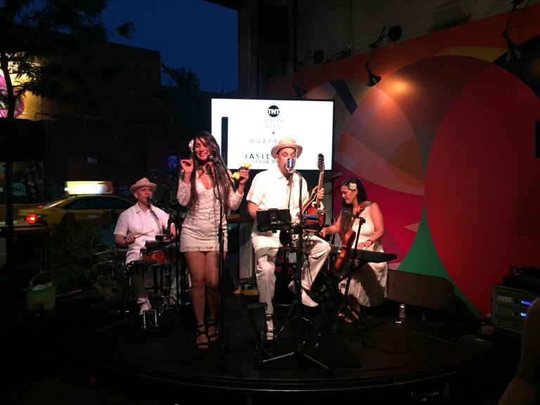 Cuban Band YeraSon Performing at the TNT Supper Club and Taste Talk Wrap-up Party.