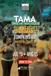 TAMA Summerfest 2017, block party, Bedford Stuyvesant, Bed-Stuy, things to do, events in Bed-Stuy, weekend events, BK Reader
