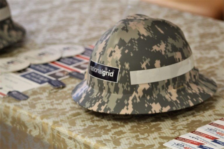 Hard Hats, Camouflage, National Grid, Veterans,