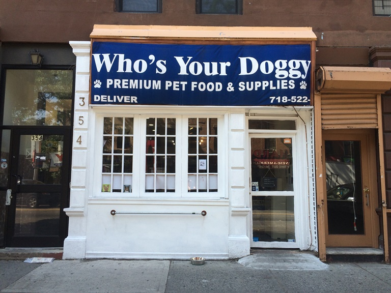 Fort Greene, BK Reader, pet store, Who's Your Doggy, Tracy Klonowski, Brooklyn small business, Brooklyn business, Brooklyn pets, Bedford Stuyvesant, G-Way Management, Cobblestone Management,