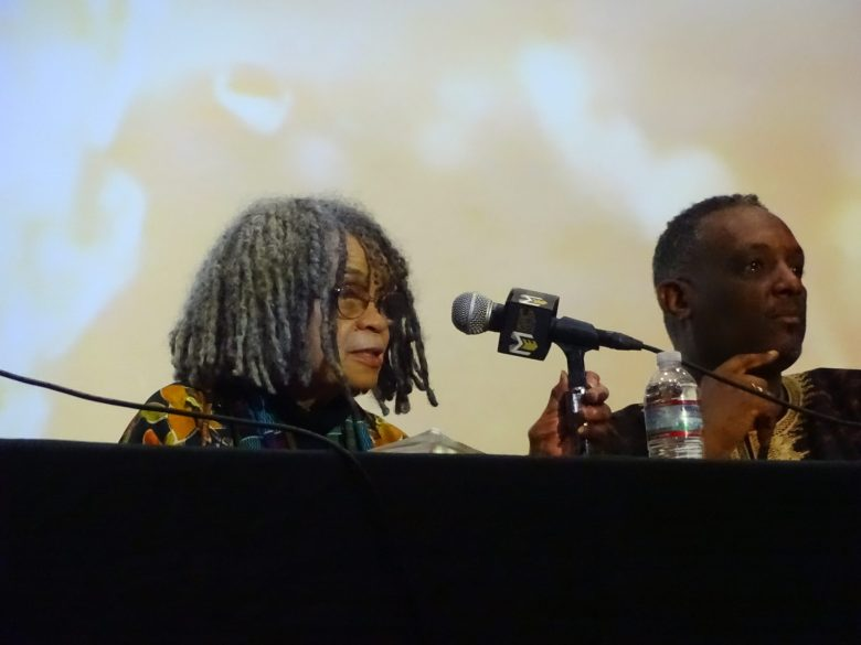 National Black Writers Conference, Medgar Evers College, black literature, Gathering at the Waters: Healing, Legacy and Activism in Black Literature, Sonia Sanchez, Gloria J. Browne Marshall, Bakari Kitwana, Wallace Ford, Michael Simanga, Greg Carr, Evie Shockley, Black Arts movement, M.W. Bennett