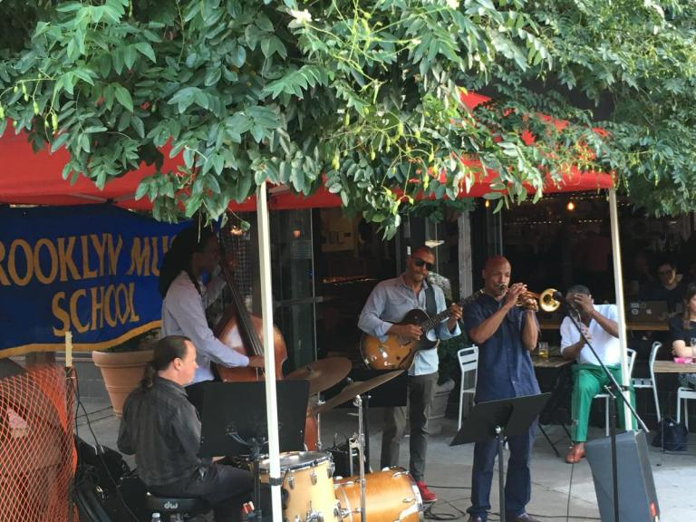 Live jazz will have Brooklynites grooving.