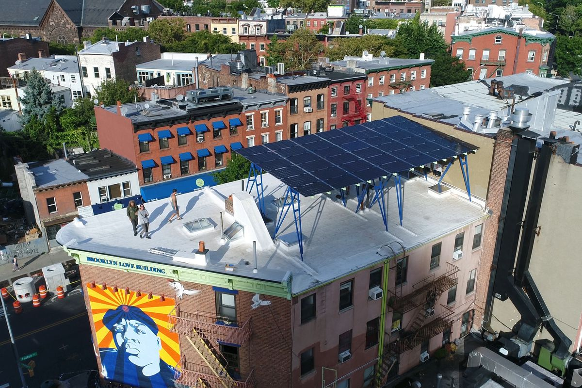 Solar canopies may be the solution for densely populated urban spaces...and rooftops.