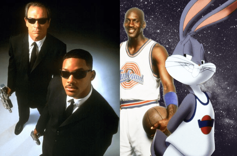 """Men in Black and Space Jam are among the classics screened during the """"Other Space Outdoor"""" Movie serie"""