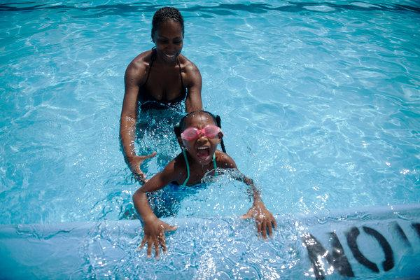 City intiative wants to teach kids of color how to swim.