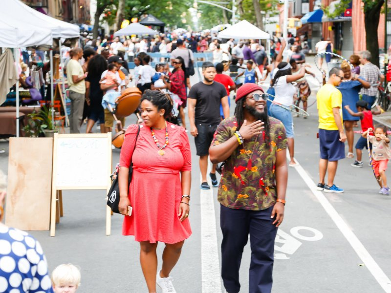 TAMA Summerfest invites the natives and newcomers of Bedford Stuyvesant to celebrate the community and support the local businesses along Tompkins Avenue
