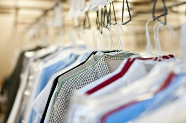 Dry cleaning chemicals can cause serious health issues.
