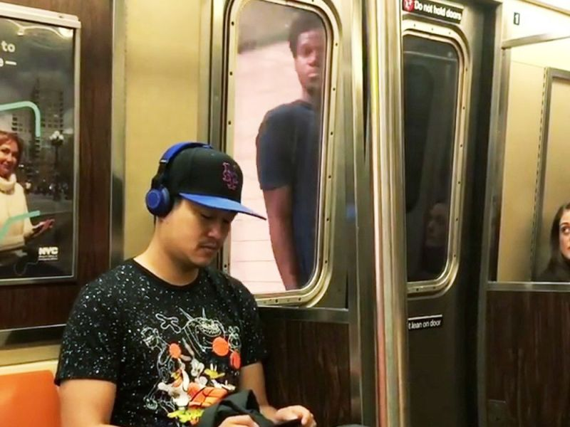 Serial subway surfer slashed fellow straphanger in Brooklyn: cops