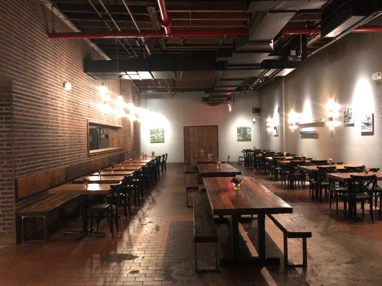 Brooklyn Cider House Dining Room