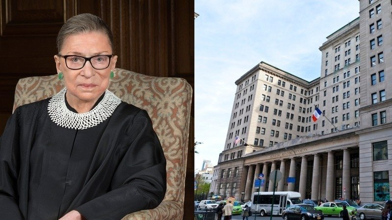 BP Adams launches a campaign to rename the Brooklyn Municipal Building in honor of Justice Ruth Bader Ginsburg.
