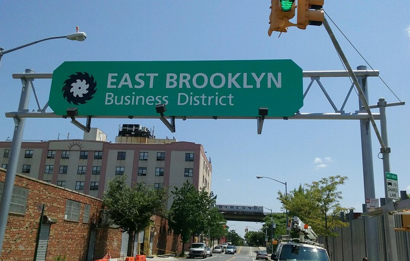 East Brooklyn businesses are booming.