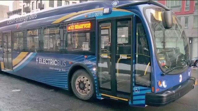 Espinal pushes for electric busses.