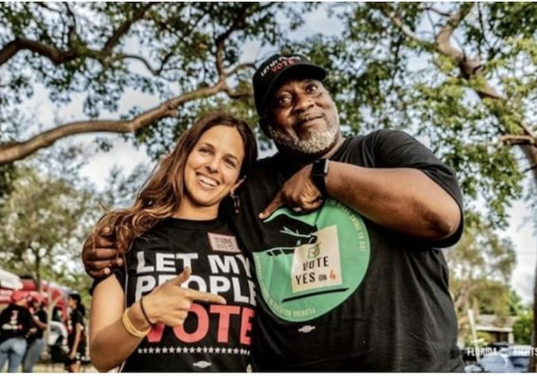 The Love Vote gets out the vote for thiose who can't cast the ballot.