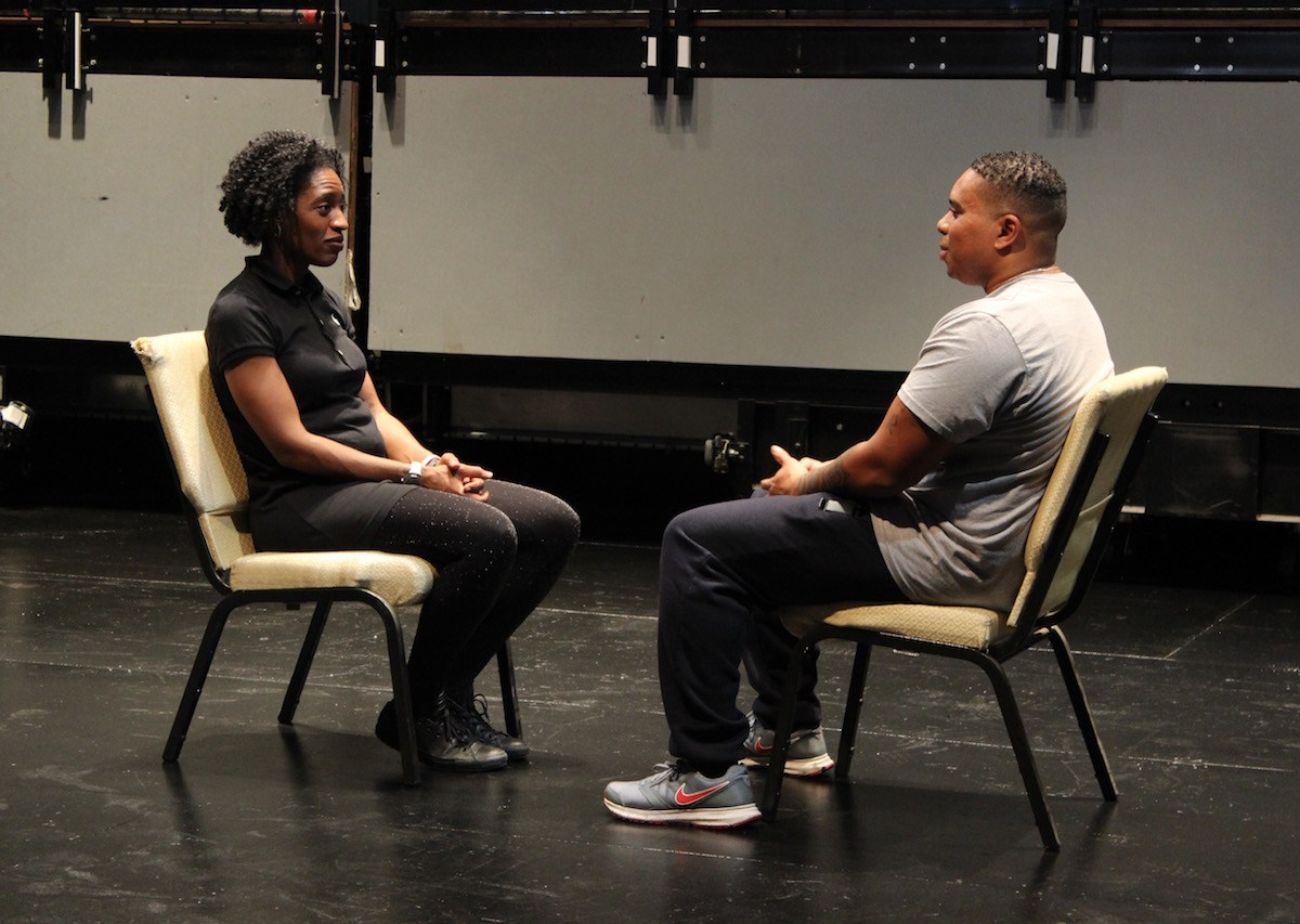 Clinton Hill's Irondale Theatre is bringing police officers and civilians together to break bread and break down biases during a ten-week improv program.