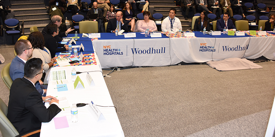 the workshop focused on how hospitals and ambulatory sites, along with local, state, and national public health authorities, should prepare for and respond to the aftereffects of an influenza pandemic.
