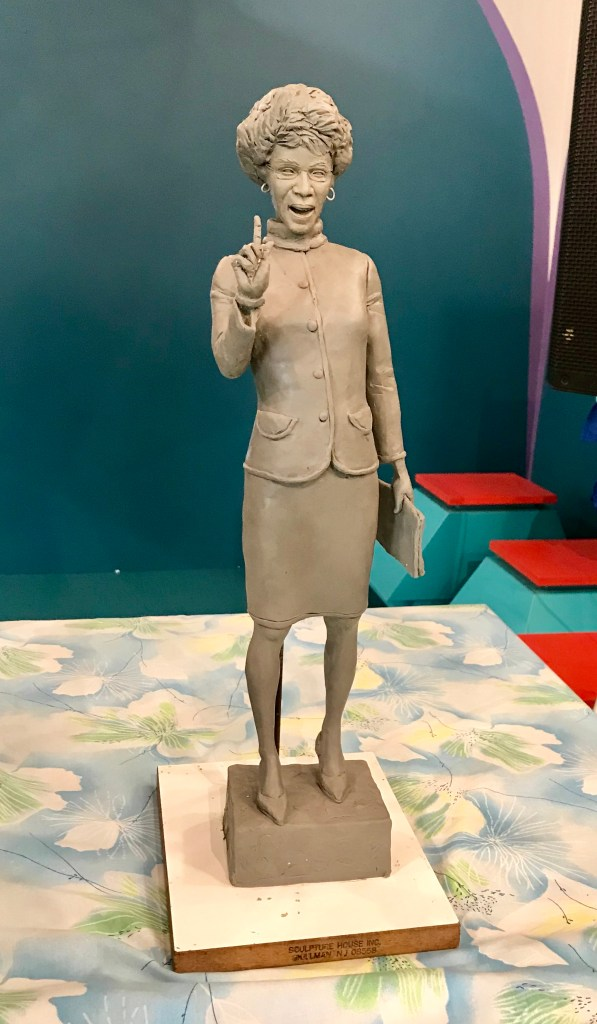 The eight-feet-tall statue of Chisholm is expected to assume its position come July in Brower Park