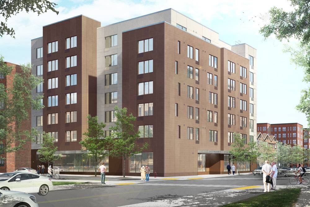 Located at 1488 New York Avenue, the development will bring 88 affordable studios for seniors to East Flatbush