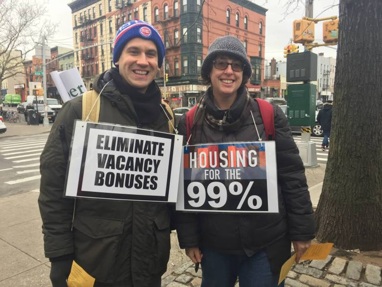 Housing Justice for All March, Cooper Square Committee, BK Reader