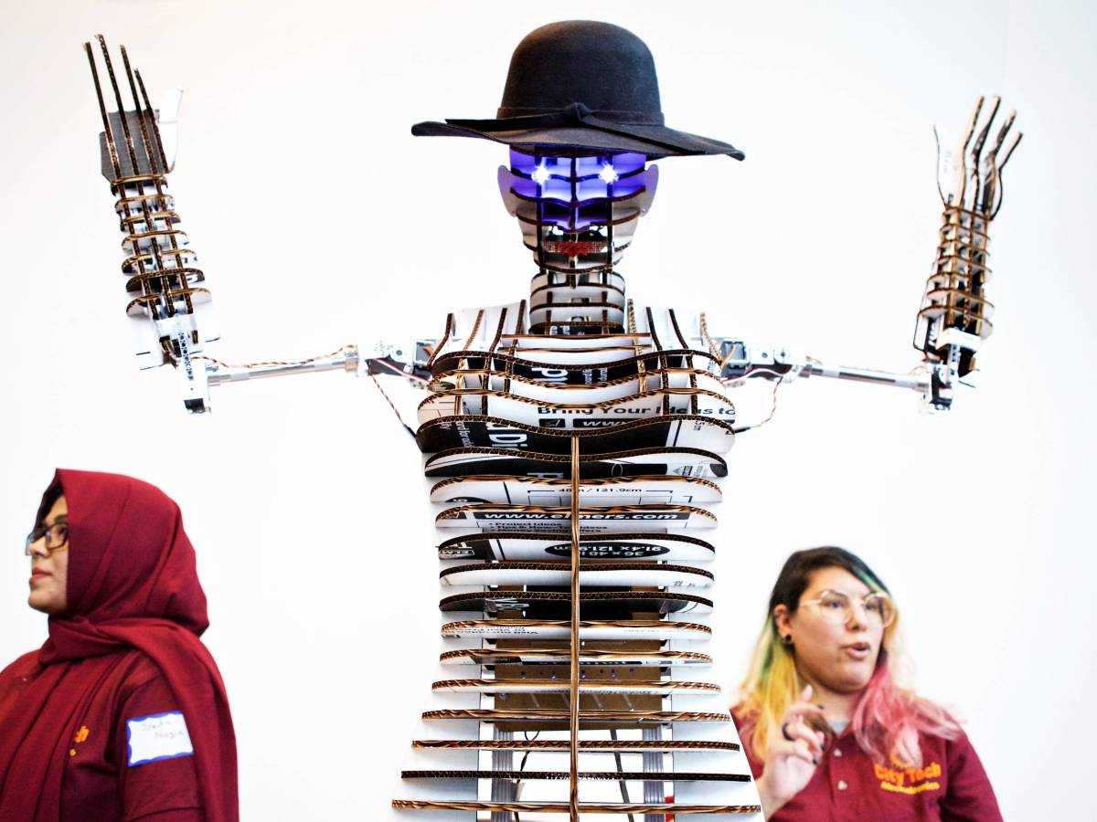Forty students presented their visions of how technology and engineering can make life better