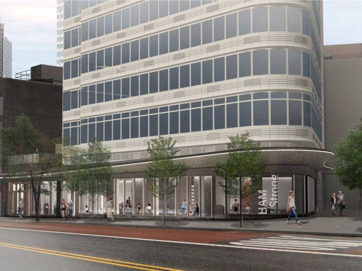 The expansion will connect three of BAM's spaces, make the Harvey Theater more accessible and add an art gallery and terrace.