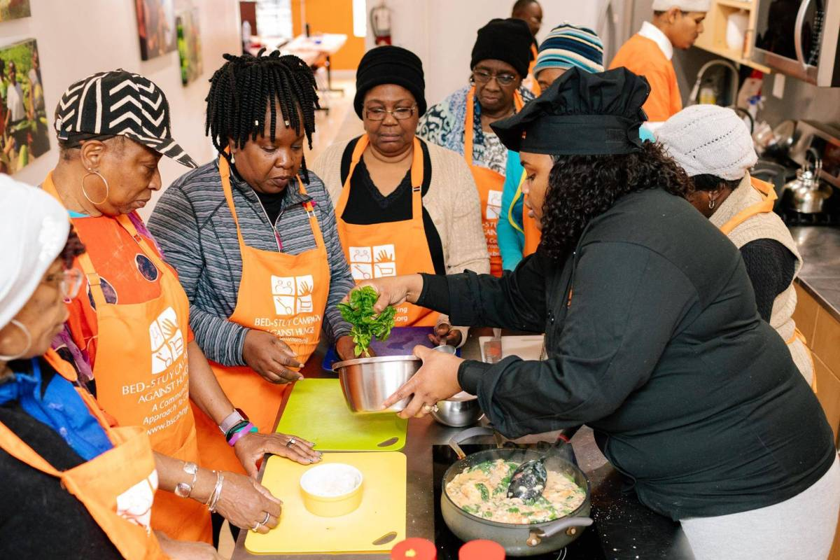 TCAH has become a community food education center with workshops and classes.