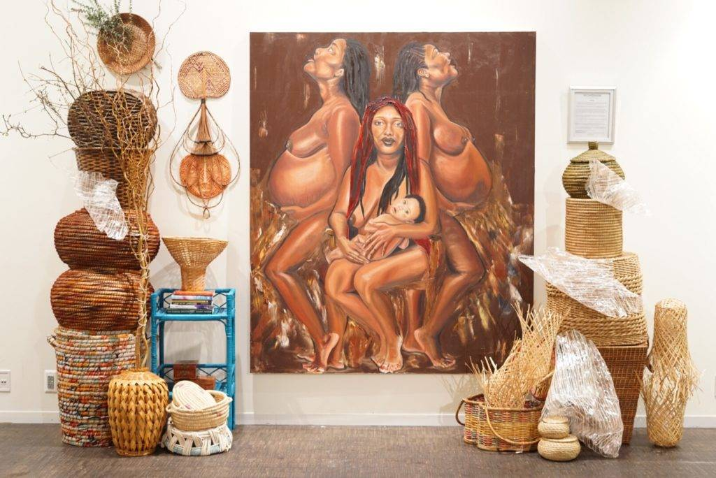 Brooklyn artist Imani Shanklin Roberts takes viewers on a journey into self-discovery to holistic femininity