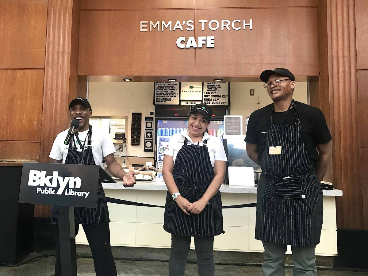 A new parternship with nonprofit Emma's Torch prepares refugees for careers in the food industry through a 12-week, paid training program.