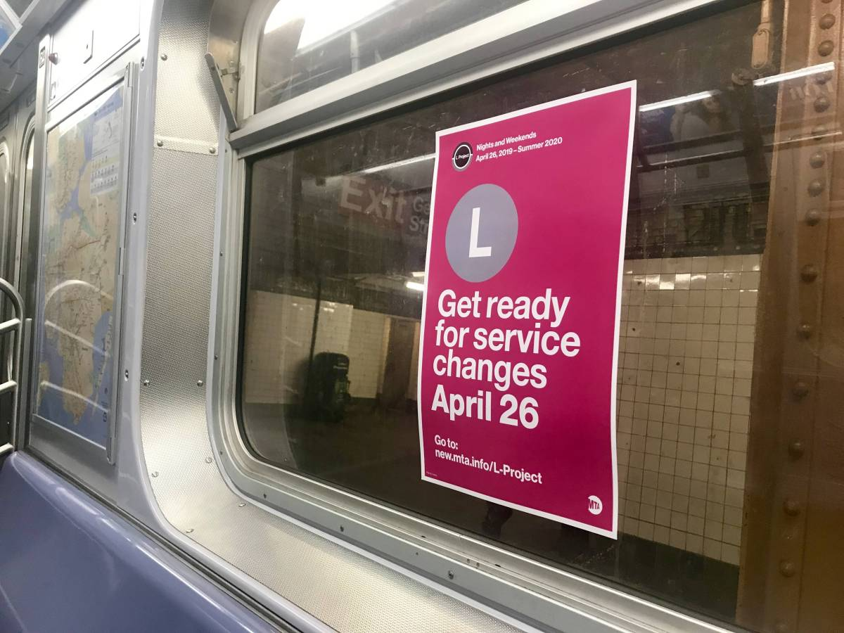 While the L train service will be reduced on weeknights and weekends, opting for alternative subway lines and buses may be your best options
