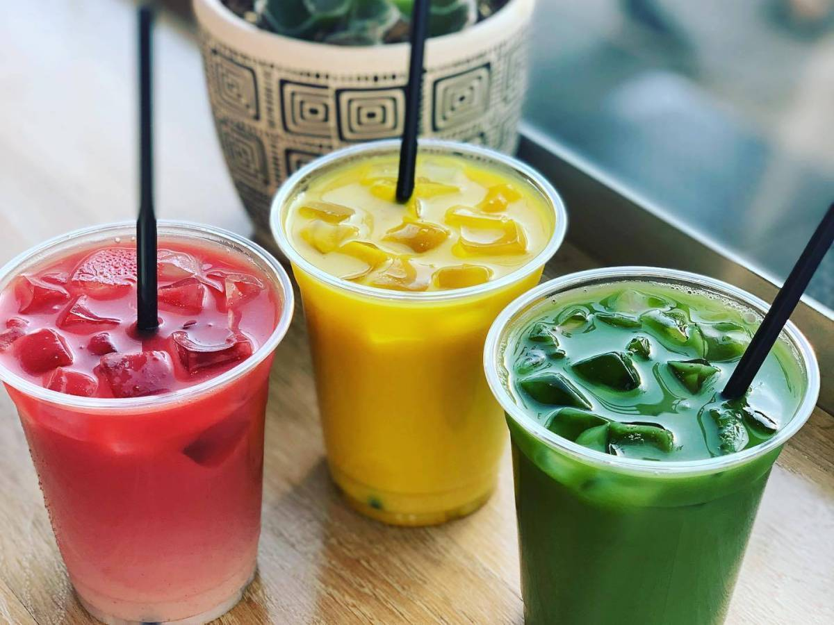 Buds & Beans offers CBD-infused coffee drinks, as well as other specialty lattes containing turmeric or beet.