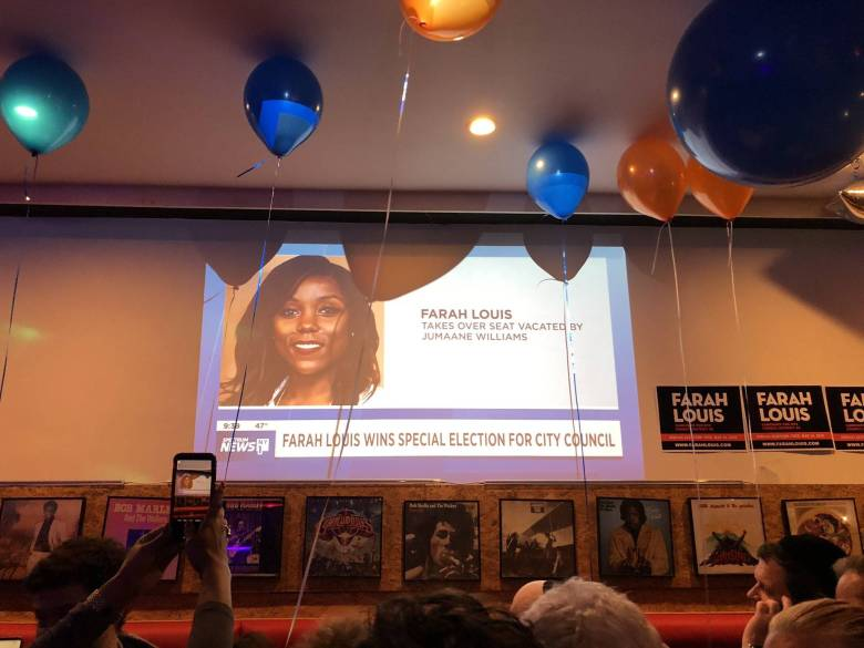 Farah Louis put affordable housing in the center of her campaign and built a diverse coalition of supporters backing her