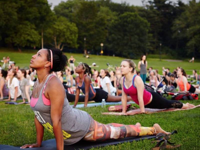 Prospect Park may be one of Brooklyn's most serene places; starting June 6, its upping the zen factor when the park's annual free yoga returns.
