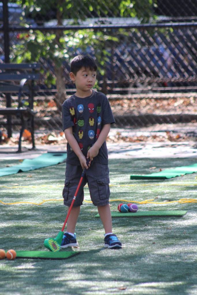"""""""School is out, summer fun is in,"""" announced the CityParks Foundation Tuesday, rolling out its summer sports program."""