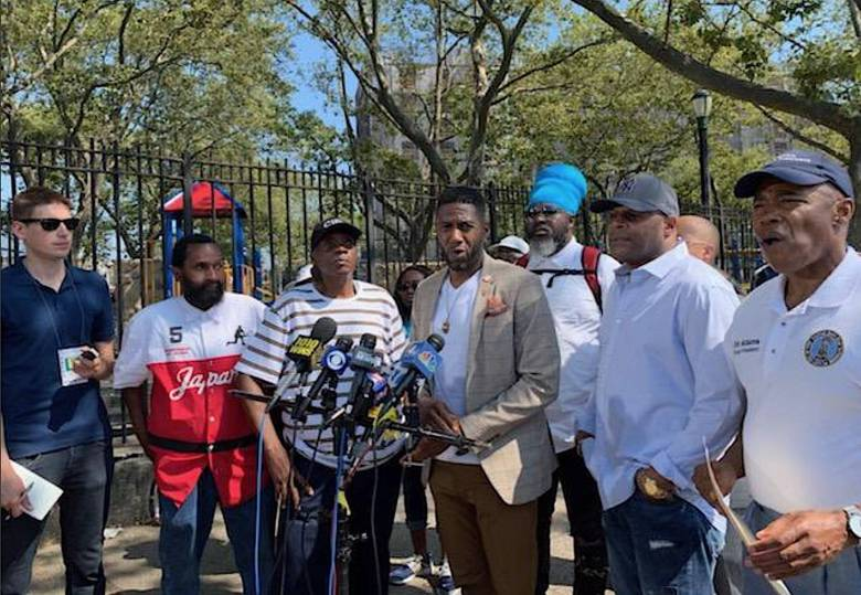 Officials stressed that the Brownsville shooting does not represent the community's spirit nor would it deter the work it's done over the years to combat violence.