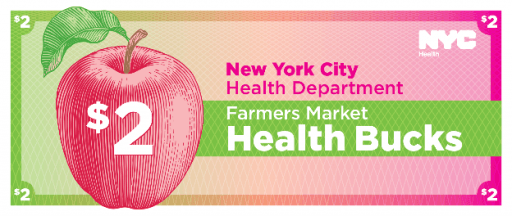 """The health department announced the expansion of its """"Pharmacy to Farm Prescriptions"""" program that issues Health Bucksto people with high blood pressure."""