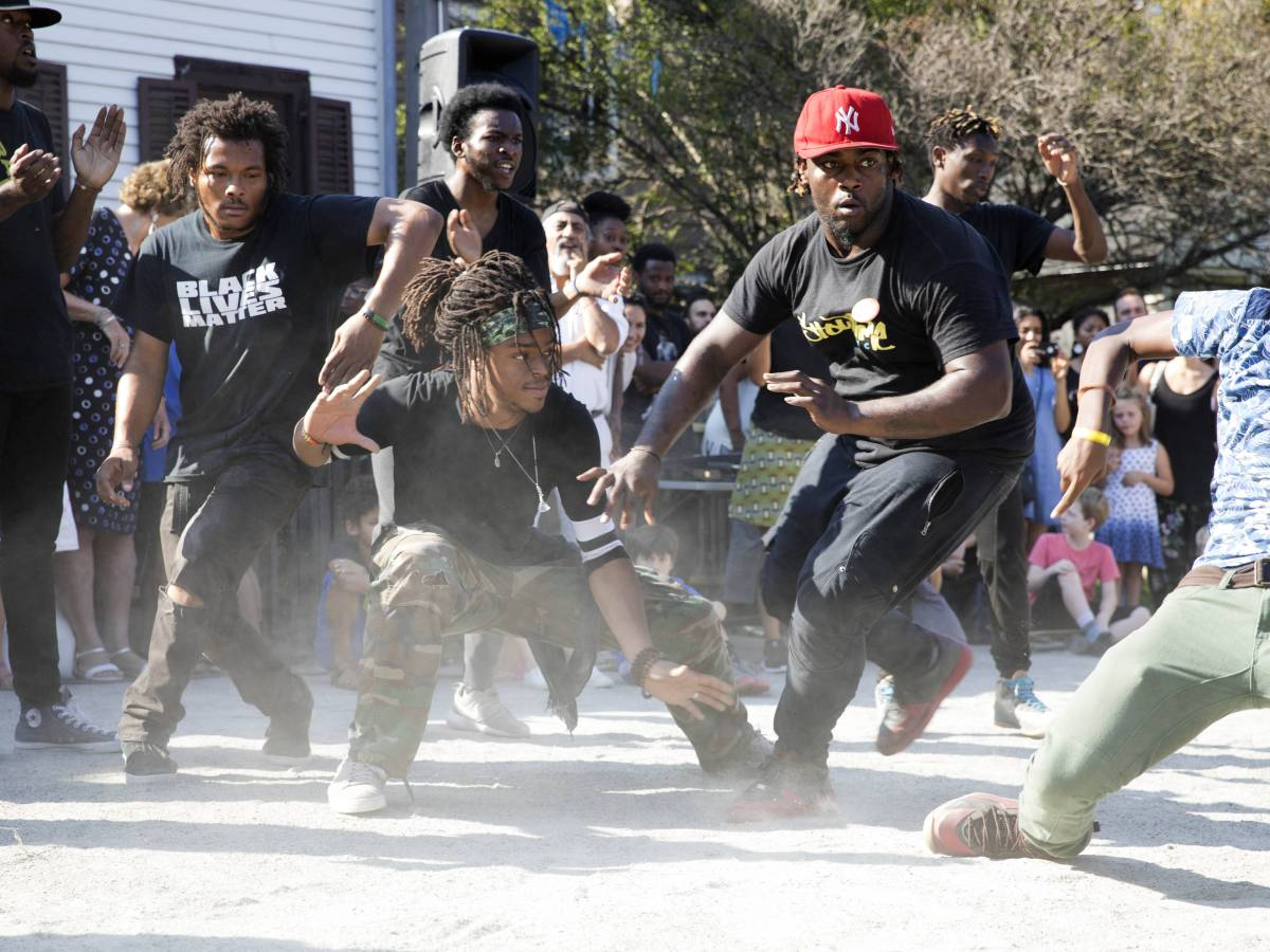 The Partnership is celebrating with a 90s hip-hop party, street dance battle ad live art installation on Friday, August 23 in the Myrtle Avenue Plaza.