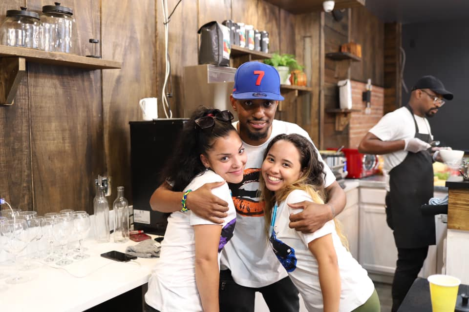 Growing up in East Flatbush, the son-and-mother duo behind Lips Cafe thought the area needs more than just Dunkin' and Starbucks