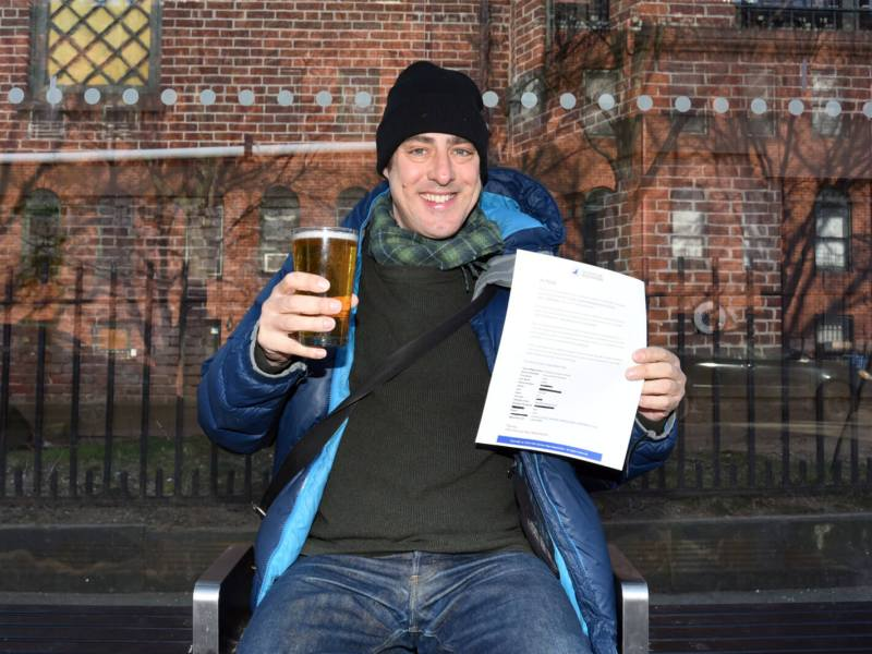Clinton Hill man registers beer as emotional support animal