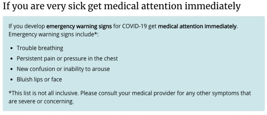 covid-19 resources, health and wellness,