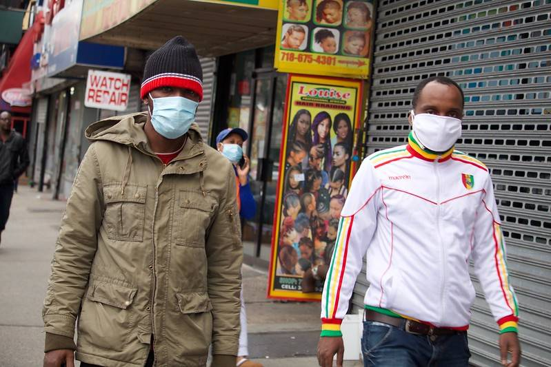 Governor Cuomo mandates the use of face masks in all public spaces Photo Courtesy of Pamela Crew | FLICKR