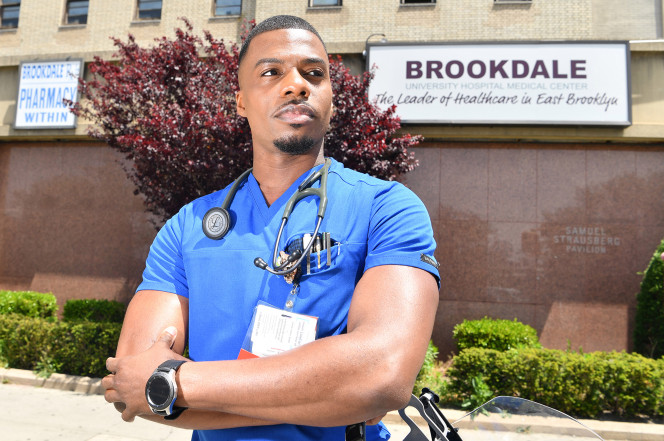 Brooklyn nurse worked 24 hours straight just to keep patients alive