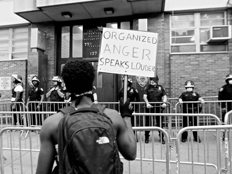 Justice, protests, BLM, racial equity, Brooklyn, Weeksville Heritage Center