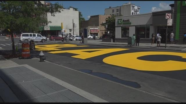 Businesses say Black Lives Matter street mural is financially hurting them