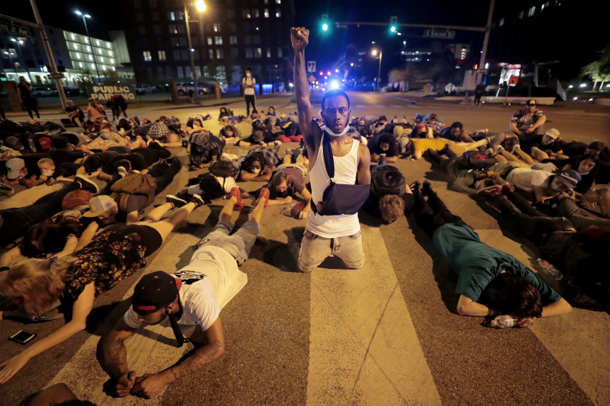 Protesters vow to sustain movement until there is change