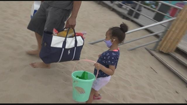 Swimming now allowed at NYC beaches when lifeguards are present, some NYC pools to open also