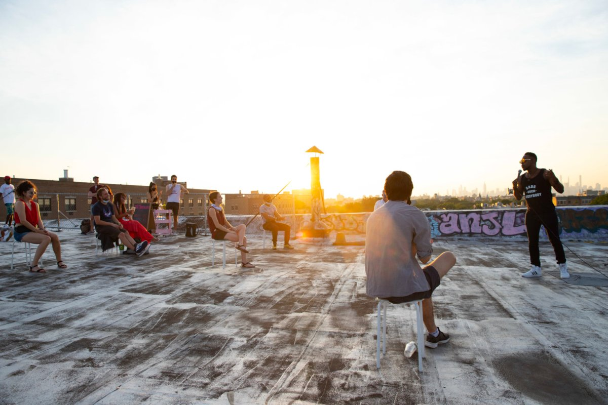 High comedy: Bushwick performance space launches rooftop stand-up