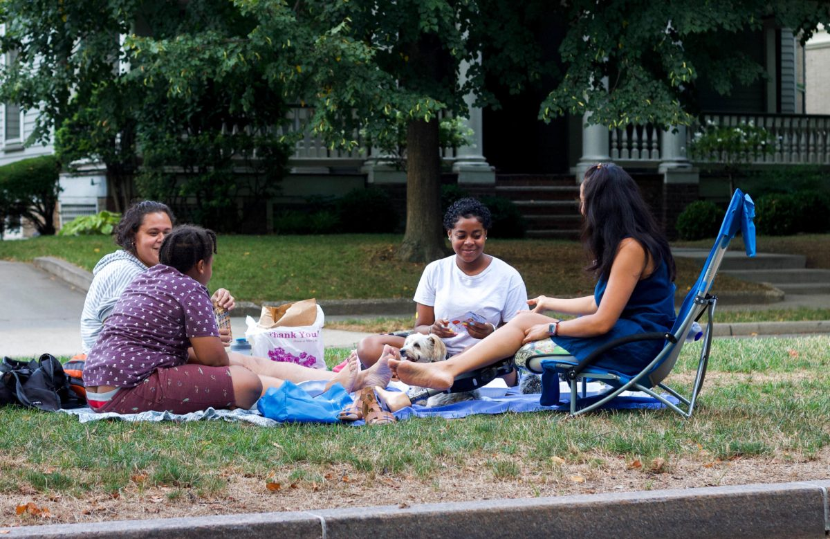 Brooklyn's Flatbush Malls become grass median oases in the age of social distancing