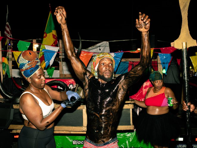 J'Ouvert 2020: Empty Streets, Lots Of Cops, And Muted Parties